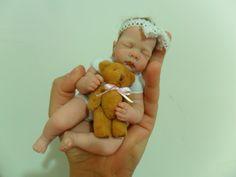 mini baby polymer clay  By Sheila Mrofka Babies