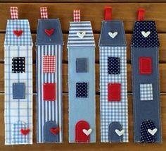 Bookmarks for kids. Book Crafts, Felt Crafts, Fabric Crafts, Sewing Crafts, Diy And Crafts, Crafts For Kids, Paper Crafts, Craft Projects, Sewing Projects