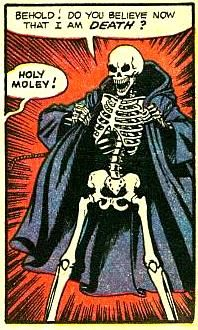 Holy moley, indeed. Bd Comics, Horror Comics, Arte Horror, Horror Art, Horror Icons, Comic Books Art, Comic Art, Supernatural Season 2, Pop Art Vintage