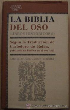 La Biblia del Oso: Libros Históricos (I) - Alfaguara, 1987