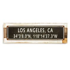 Poncho & Goldstein Favorite City Sign ($46) ❤ liked on Polyvore featuring home, home decor and wall art