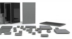 phonebloks: a modular customizable smartphone that allows you to swap and replace obsolete features independently of the phone itself. High Tech Gadgets, Gadgets And Gizmos, Cool Gadgets, Kit, Architecture Design, Recycling Machines, Mobile World Congress, Latest Smartphones, Cheap Cell Phones
