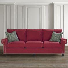 HGTV® HOME Custom Upholstered Medium Great Room Sofa by Bassett Furniture