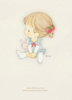 插畫家Ato Recover:留一個位子在心底給夢想。來源:http://www.facebook.com/123ato