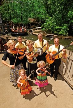 The Downing Family at Silver Dollar City during Southern Gospel Picnic #branson #music