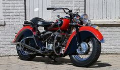 A 1946 Indian Chief at @mecum's Indianapolis auction on May 14! See more bikes at http://mecum.com.
