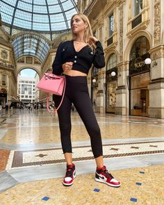 Blond, Adidas Tracksuit, Nike Sweatpants, Hermes Kelly Bag, Stockholm Street Style, Donia, Fashion Sites, Fashion Trends, Blouse Outfit