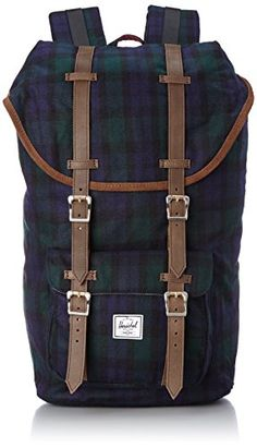 c638c4bcd2a99 Herschel Supply Co Little America Select Black Watch Plaid One Size      Click image for more details.