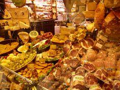 """""""Mercado di Mezzo"""", Bologna Italia (Marzo)"""