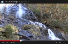 Click this pin to watch the water fall at Amicalola Falls State Park from your desk!