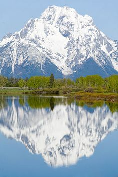 Oxbow Bend, Snake River, Wyoming, Grand Tetons - Grant Collier