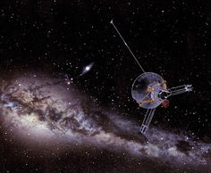 Pioneer 11 launched 40 years ago, on April 6, 1973, is heading in the direction of the constellation Scutum.
