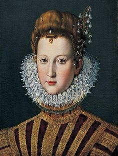 Portrait of Marie de Medici, Queen of France (1573-1642) as a young girl
