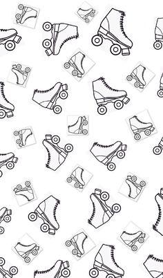 Wallpaper de patines. ⛸✨