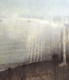 """Low Chalk Hill"" oil on canvas 90cm x 78cm  by Tania Rutland"