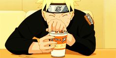 Haha! Aw I'm sorry Naruto. You kinda deserve it though for always eating that stuff