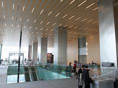 日本一の超高層ビル「あべのハルカス」-美術館・オフィスロビーなど公開
