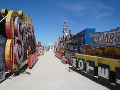 Las Vegas neon museum-gotta get there someday.  CALL and AHEAD regarding their photo policy and availability.