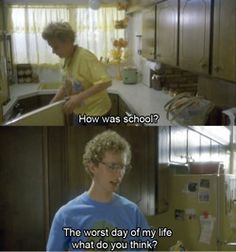 the fictional character i most wish i could be friends with in real life :) Tv Quotes, Movie Quotes, Napoleon Dynamite, Funny Memes, Hilarious, Movie Lines, Can't Stop Laughing, Have A Laugh, Musik