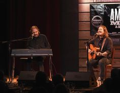 John Paul White Photos Photos - Donnie Fritts and John Paul White perform during…
