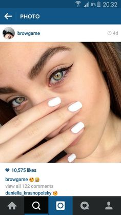 Her brows