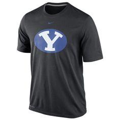 $30 Nike+BYU+Cougars+Logo+Legend+Dri-FIT+Performance+T-Shirt+-+Black