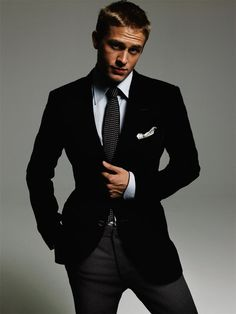 Charlie Hunnam -he cleans up quite nice!!