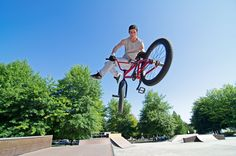 What makes BMX bikes different, why they are the perfect trick bikes and all the…