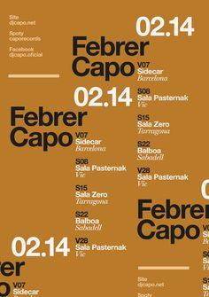 capo poster by quim marin