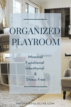 An organized playroom will give your children a comfortable area for play without overwhelming them with choices.Think about how debilitating it is to think about cleaning your house when you have spent a week ignoring your to-do list. You struggle with overwhelm, You cant figure out where to start, or where to direct your attention.