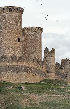 Medieval towers of Belmonte's Castle #Portugal