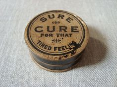 vintage tired cures - Google Search