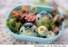 Everyone, I just got some amazing brand name purses,shoes,jewellery and a nice dress from here for CHEAP! If you buy, enter code:atPinterest to save http://www.superspringsales.com -   Pokemon Bento