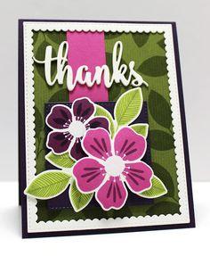 Flashy Florals Card Kit - Jody Morrow  #mftstamps