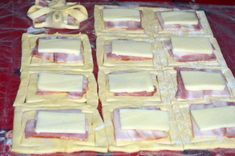 Party Sandwiches, Romanian Food, Pastry And Bakery, Cookie Recipes, Deserts, Good Food, Food And Drink, Bacon, Cheese