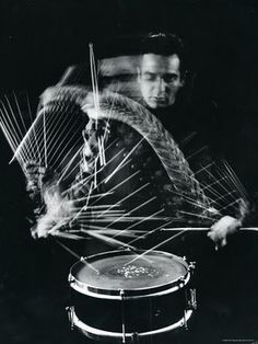Gene Krupa    #jazz #drums.  My dad was a pro drummer and bandleader, and his fave drummer was Krupa.