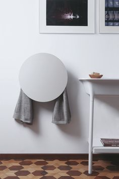 ROUND electric towel warmer | mg12