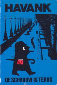 Havank - De schaduw is terug. Een Londense episode Thrillers, Black Bear, Heer, Bookstores, Movie Posters, Book Covers, Artists, Seeds, American Black Bear