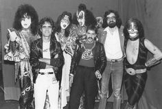 """Backstage at Maple Leaf Gardens in Toronto with KISS in 1979. From the Rock Memoir """"Pop Goes The Weasel: Rock And Roll Off Record"""" by Gerry Young, available at amazon.com."""
