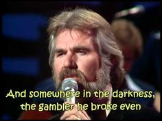 Kenny Rogers - The Gambler (with lyrics) (+playlist)