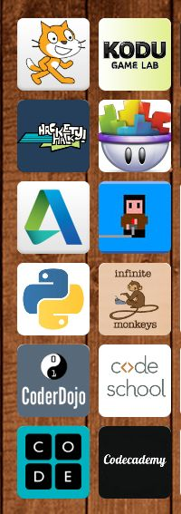 Do you teach game-making, app-making, or coding?  Are you thinking about it?  I just started this year, and these are the resources I have gathered. 30+ free apps and sites!