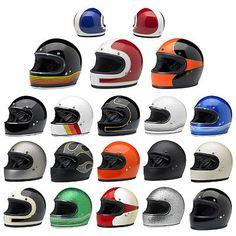 Ships-Same-Day-Biltwell-Gringo-Full-Face-Motorcycle-Helmet-Black-White