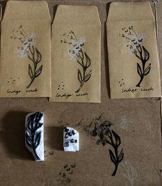joanne headington - dried indigo flower