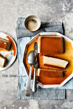 crème caramel al caf