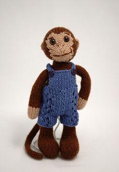 monkey by fuzzymitten, via Flickr