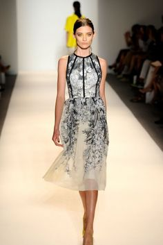 New York Fugshion Week: Gowns, Part II Lela Rose - Runway - Spring 2013 Mercedes-Benz Fashion Week – Go Fug Yourself
