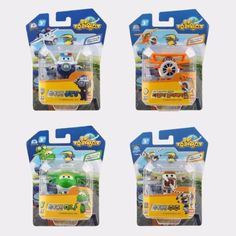 Mini #BJBong #Daalji #Mina #Juju #SuperWings Transforming Robot Plane Toy 4pcs Set