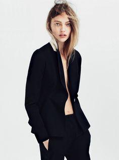 Vogue UK July 2014 Photographer: Daniel Jackson Styling: Kate Phelan Model: Sasha Pivovarova