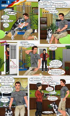 Zeichentrickfilm Porno-Comic-Bild