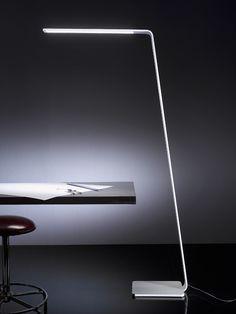 White LED floor lamp